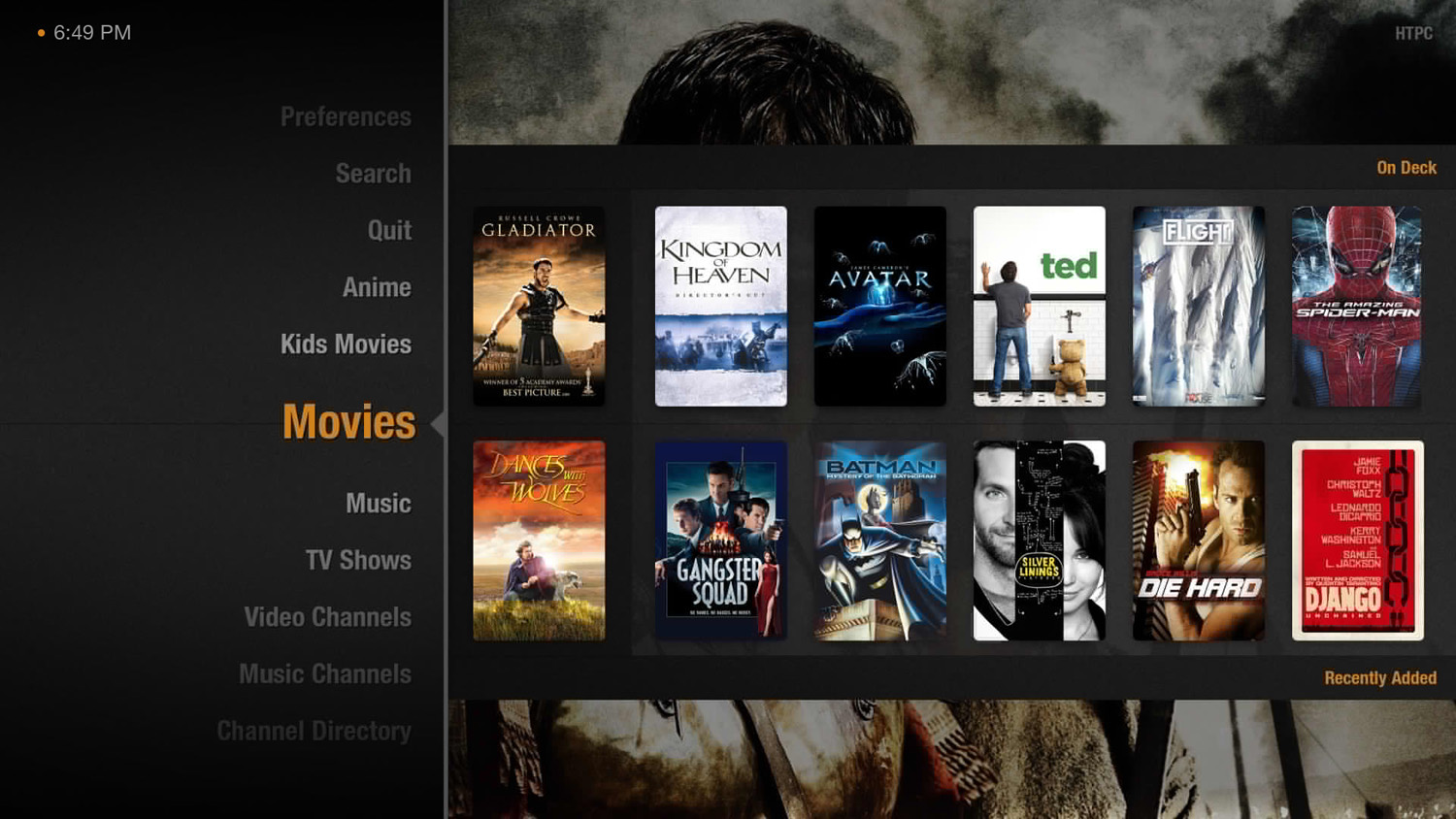 how to put your own movies on plex